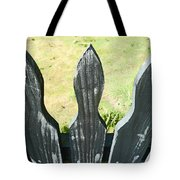 The Patchy Fence  Tote Bag