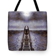 The Path To Heaven Tote Bag by Dan Sproul