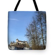 The Path To The Castle Tote Bag