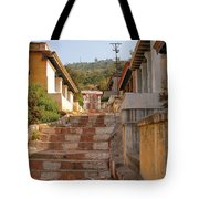 The Path To The Temple Tote Bag