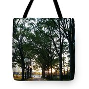 The Path To The Titanic Memorial Tote Bag