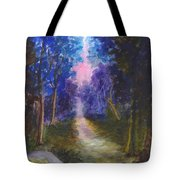 The Path Up Yonder Tote Bag