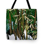 The Patience Of Bamboo Tote Bag