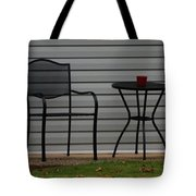 The Patio In Living Color Tote Bag