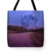 The Peace Moon  Tote Bag
