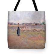 The Peace Of Evening Tote Bag