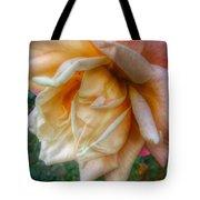 The Peach Rose Tote Bag