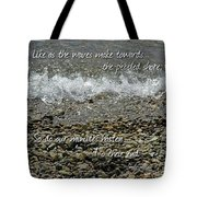 The Pebbled Shore 2 Tote Bag