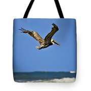 The Pelican And The Sea Tote Bag