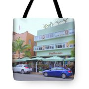 The Pelican Hotel Tote Bag