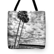The People Are The City Palm Springs City Hall Tote Bag