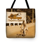 The People Of Holguin Are Fighters Tote Bag