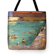 The Peoples Pool, Palm Beach, 1927 Tote Bag