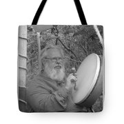The Percussionist And  Storyteller Tote Bag