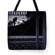 The Perfect Frame For The Heceta Lighthouse Tote Bag
