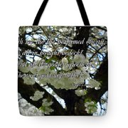 The Perfumed Cherry Tree 2 Tote Bag