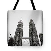 The Petronas Towers Malaysia Tote Bag