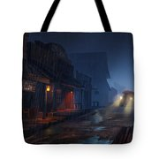 The Phantom 309 Tote Bag by Kristina Vardazaryan