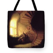 The Philosopher In Meditation Tote Bag