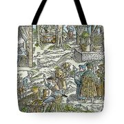 The Physic Garden, 1531 Tote Bag