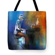 The Pianist 01 Tote Bag