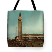The Piazza San Marco Venice Tote Bag