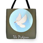 The Pidgeon Cute Portrait Tote Bag