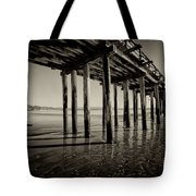The Pier At Cayucos Tote Bag