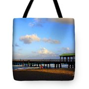 The Pier At Lauderdale By The Sea Tote Bag