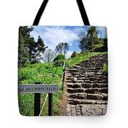 The Pilgrims' Steps Tote Bag