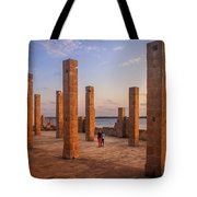 The Pillars Of The Earth Tote Bag