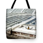 The Pineapple Pit Tote Bag by Anne Gilbert