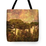 The Pines Of Rome Tote Bag