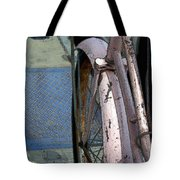 The Pink Bicyclette Tote Bag
