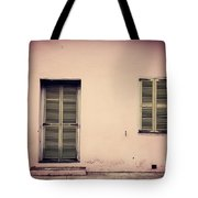 The Pink Building Tote Bag