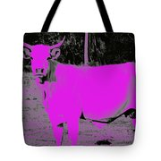 the Pink Cow Tote Bag
