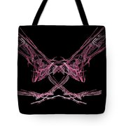 The Pink Falcon Tote Bag