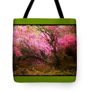 The Pink Forest Tote Bag