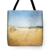 The Pinnacles In Western Australia Tote Bag