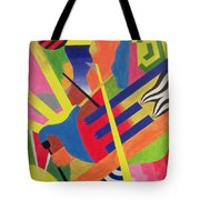 The Pipe Band, 1990 Tote Bag