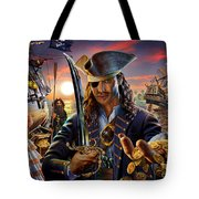The Pirate Tote Bag by Adrian Chesterman