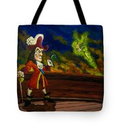 The Pirate And The Fairy Tote Bag
