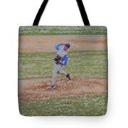 The Pitcher Digital Art Tote Bag