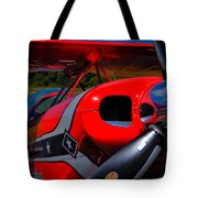 The Pitts S2-b Biplane - Will Allen Airshows Tote Bag
