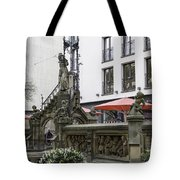 The Pixie Fountain Cologne Germany Tote Bag