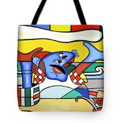 The Pizza Guy Tote Bag by Anthony Falbo