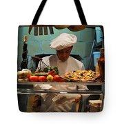 The Pizza Maker Tote Bag