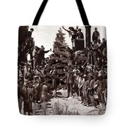 The Placing Of The Golden Star Tote Bag
