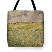 The Plain At Auvers Tote Bag