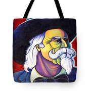 The Plainsmen - Buffalo Bill Cody Tote Bag